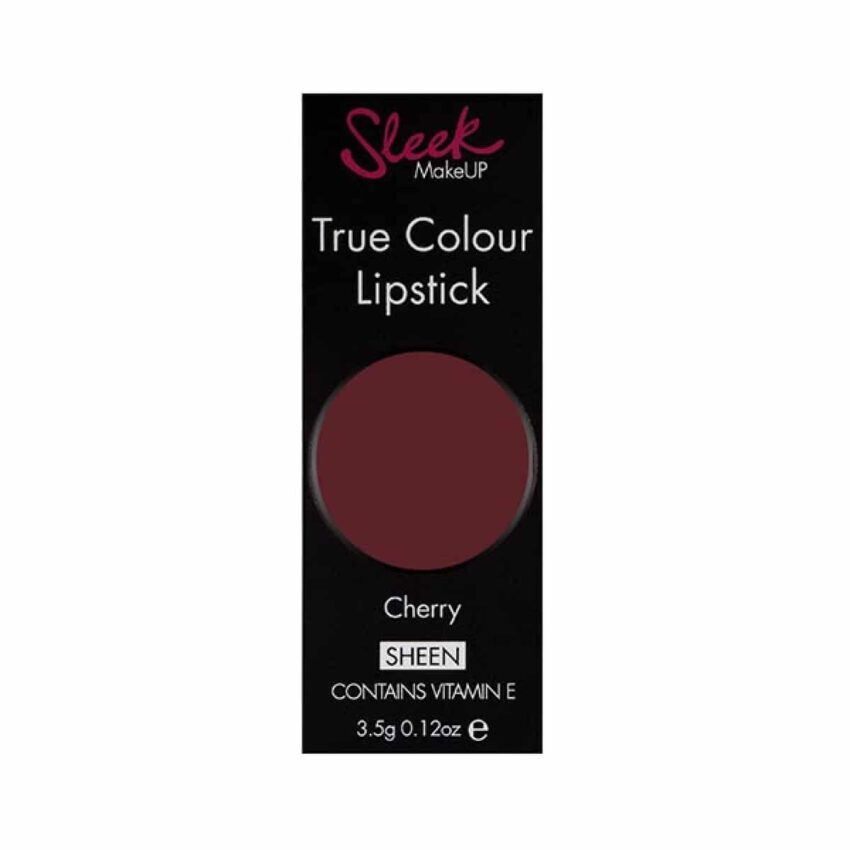 Sleek True Colour Lipstick Cherry