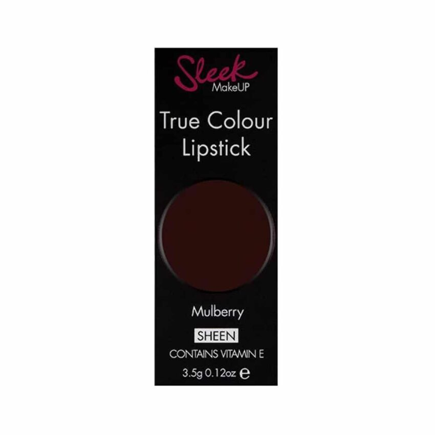 Sleek True Colour Lipstick Mulberry