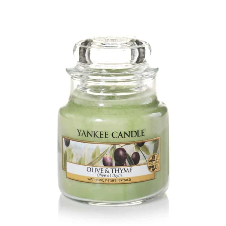 Yankee Candle - Olive & Thyme Small Jar