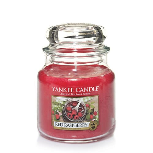 Yankee Candle - Red Raspberry Medium Jar